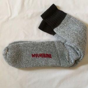 WOLVERINE Long wooly socks